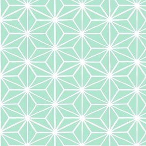 Star Tile, Mint Green // standard