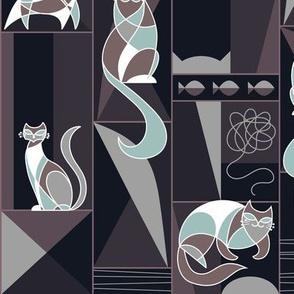 modernist cats dark