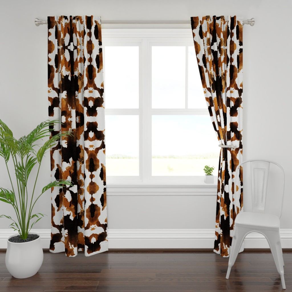 Plymouth Curtain Panel featuring Wild Thing Pony by spellstone