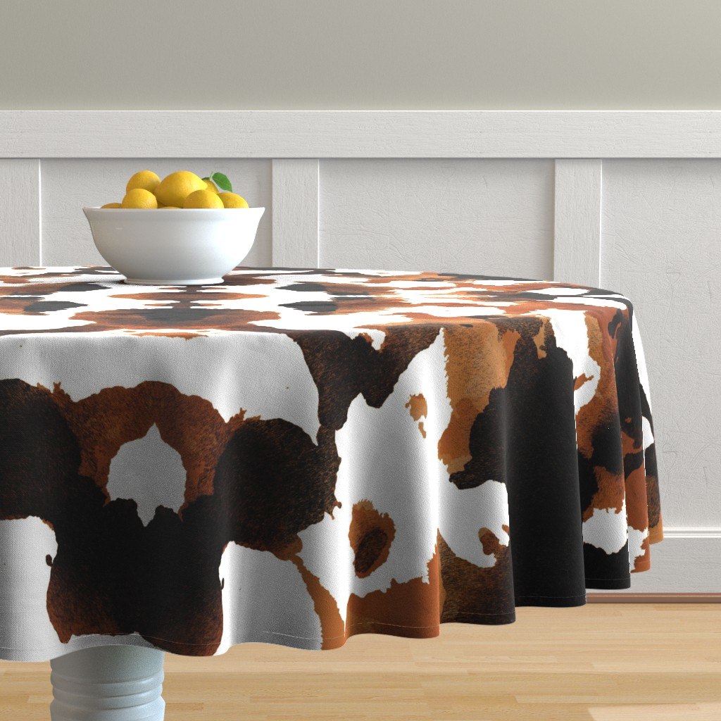 Malay Round Tablecloth featuring Wild Thing Pony by spellstone