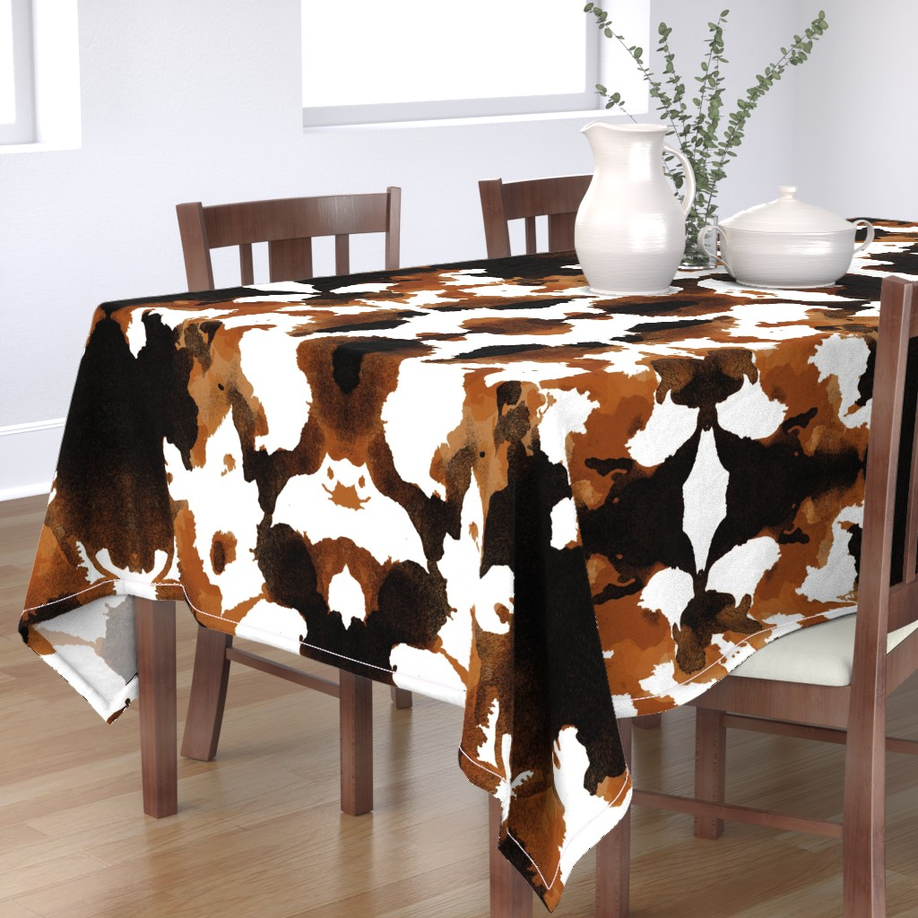 Bantam Rectangular Tablecloth featuring Wild Thing Pony by spellstone