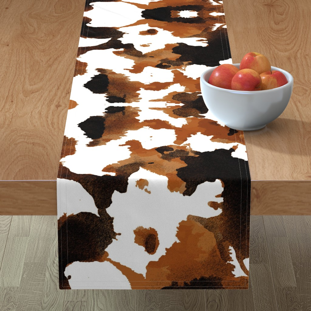 Minorca Table Runner featuring Wild Thing Pony by spellstone