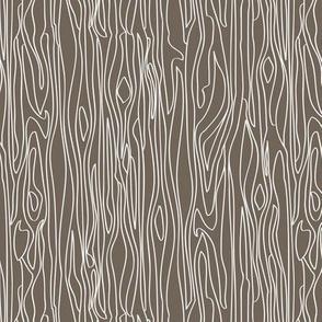 Woodgrain - Brown with white grain - small scale
