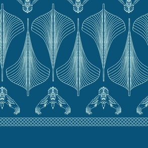 viking hulls skirt viking blue
