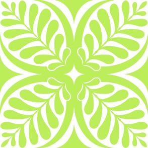 Fern Block Lime