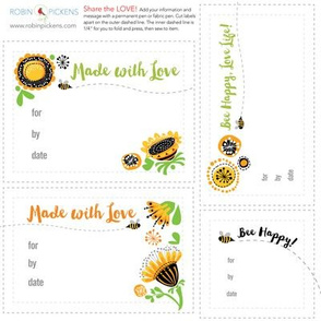 RPQuilt_F abric Labels_BeeHappy