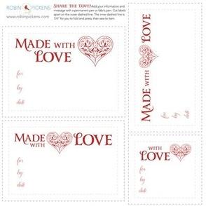 RP Quilt Fabric Labels_Love FancyHeart