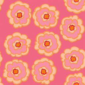 flower_button_pink and orange