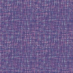 spring quilt purple barkcloth
