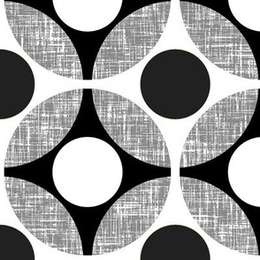 UK Mod Geometric in black + white by Su_G_©SuSchaefer
