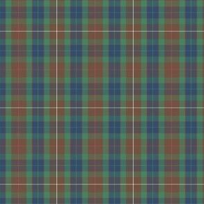 "Fraser modern hunting tartan, 3"" (1/2 scale)"