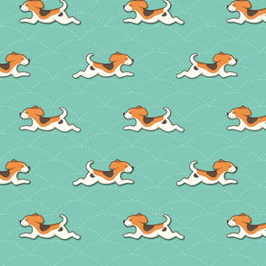 Beagle pattern - small