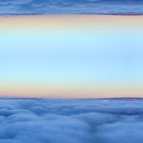 Cloudy Sunrise on Grand Canyon