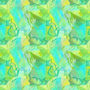 Fiaba Cubist Cats