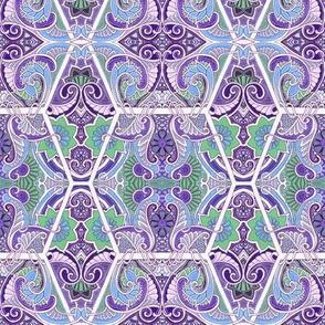 Do the Purple Paisley Shuffle