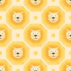 Cube Lions - by Kara Peters