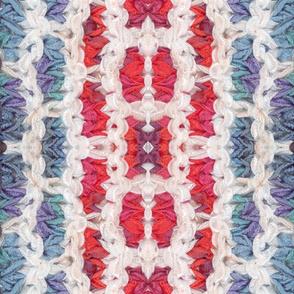 Knitting freeform - kaleidoscope 3 -  smaller