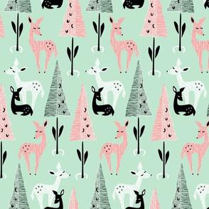 Deer Dwelling: Mint