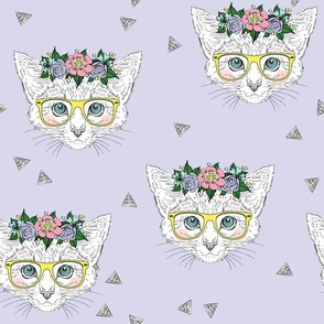 Lilac Hipster Kittens