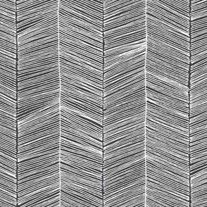 Herringbone - Charcoal