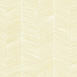 Herringbone - Golden Yellow