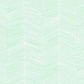 Herringbone - Mint
