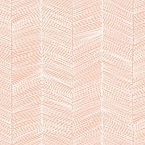 Herringbone - Peach