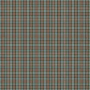 """Fraser hunting tartan,1""""  weathered (1:6 scale)"""