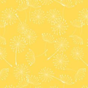 Wild Garden Dandelion Yellow