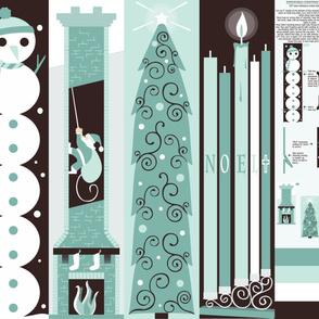 Expandable Christmas Tube Sock