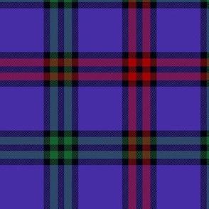 """Montgomerie tartan, 6"""" red/green/blue-violet"""