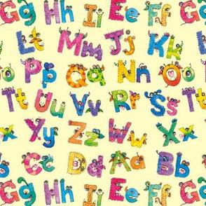 My Monster Alphabet