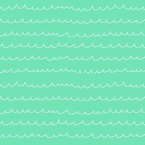 Water Waves (Mint)