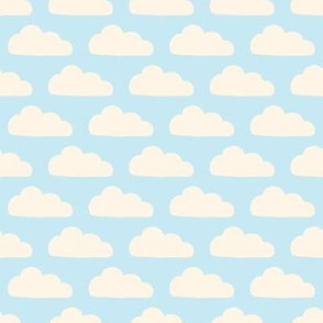 Baby Blue Clouds