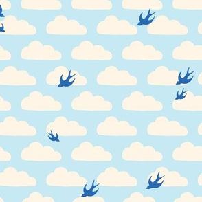 Bluebirds in the Clouds