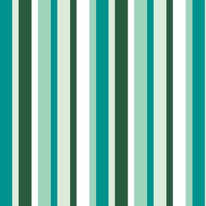 Alpine Stripes (Minty)