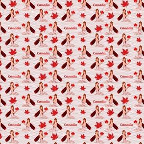 Canadian Mapleleaf Fae on Light