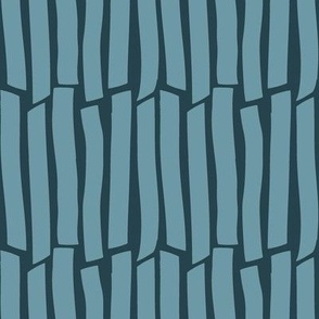 teal cracked stripes | pencilmeinstationery.com