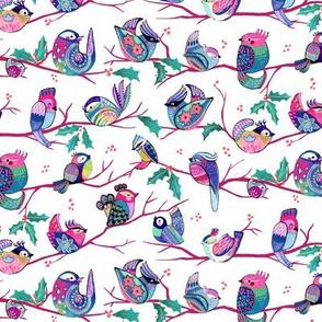 Holiday birds - Christmas