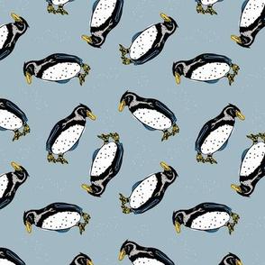 Pinguin gris