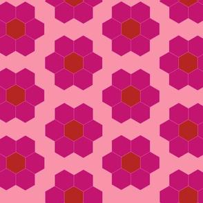 June's pink Flower Garden Cheater