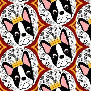 Queen Daisy Retro Wallpaper