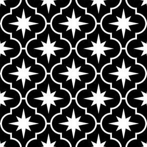 04028899 : crombus star : black + white