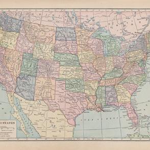 US map one yard