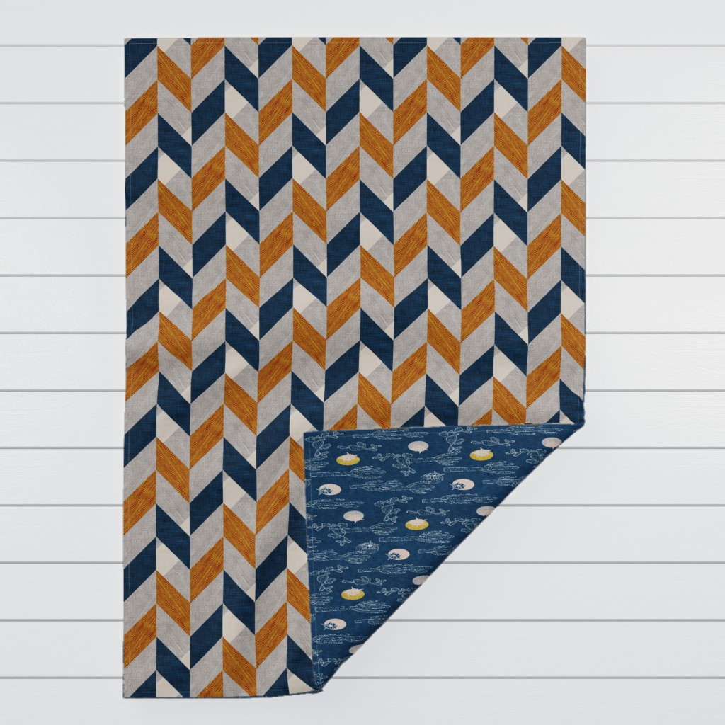 Special Edition Blanket on Wood