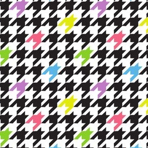 Touch of Pastel Houndstooth