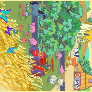 The Farm - quilt