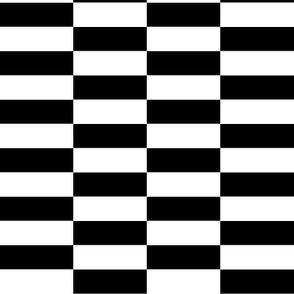 white black checkerboard stripes
