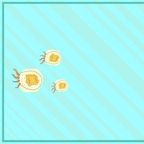 Fat Jellyfish Towel