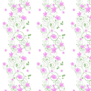 Trellised Flowers